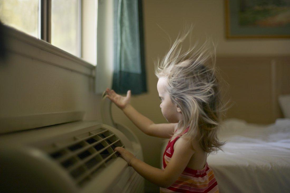 Как да използвате климатици в детската стая