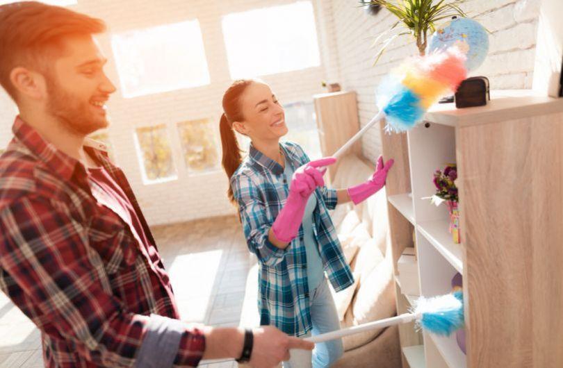 Почистване на къщата от Мари Кондо